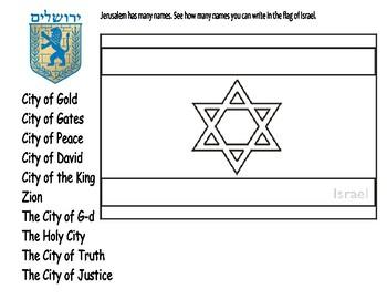 Jerusalem Day Activities
