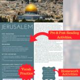 Jerusalem - ESL Reading, Comprehension & Discussion