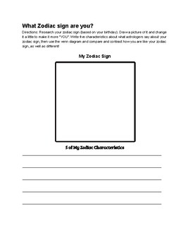 Jess & Layla's Astronomical Assignment Complete Activity Packet