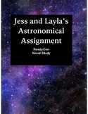 Jess and Layla's Astronomical Assignment  (ReadyGen/Novel Study)