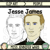 Jesse James Clip Art