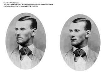 Jesse James Comic Strip and Storyboard