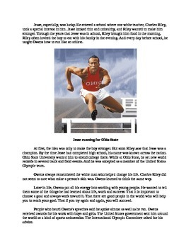 Jesse Owens - A Short Biography for Kids