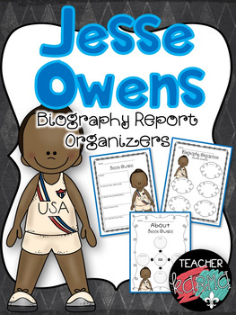Jesse Owens Biography Report Organizers ~ Black History Month