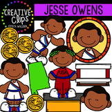 Jesse Owens Clipart {Creative Clips Clipart}