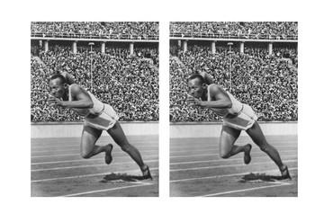Jesse Owens Comic Strip and Storyboard