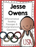 Jesse Owens Differentiated Reading Passages & Comprehension Questions