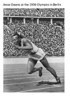 Jesse Owens Handout