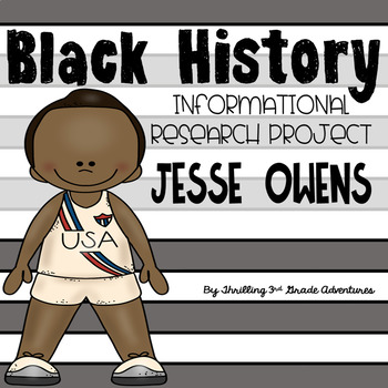Jesse Owens- Informational Writing