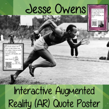 Jesse Owens Interactive Quote Poster