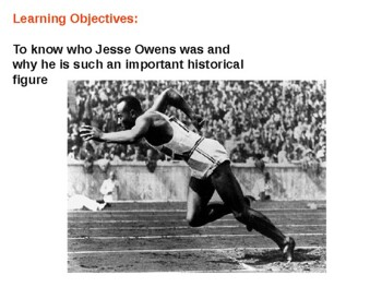 Jesse Owens Quiz and Review