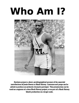 Jesse Owens - Who Am I?