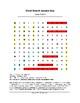 Jesse Owens Word Search (Grades 3-5)