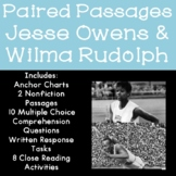 Jesse Owens and Wilma Rudolph Reading Comprehension Paired Passages
