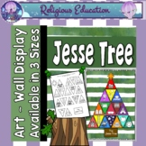 Jesse Tree Advent Wall Art ~ 3 sizes!