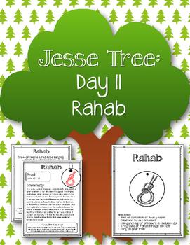 Jesse Tree. Day 11. Rahab. Christmas Advent