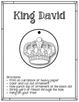 Jesse Tree. Day 13. King David. Christmas Advent