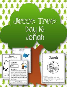 Jesse Tree. Day 16. Jonah. Christmas Advent