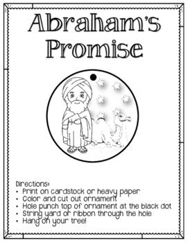 Jesse Tree. Day 4. Abraham's Promise. Christmas Advent Abraham