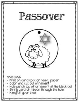 Jesse Tree. Day 8. Passover. Christmas Advent