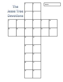 Jesse Tree Devotion Readings Cross