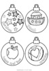 Jesse Tree Advent Ornaments ~ Jesus, Mary, Moses and more