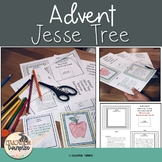 Jesse Tree Ornaments with matching Bible Verses,Tic Tac Toe and Rubric