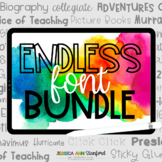 Stanford Fonts Endless Bundle {personal and commercial use}