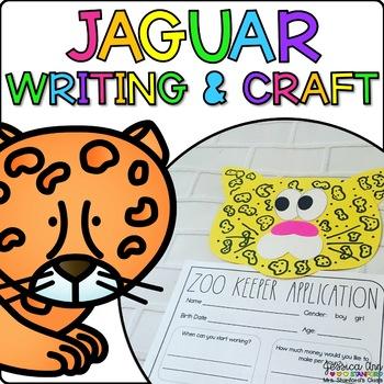 Jessica the Jaguar {Animal Craftivity and Writing Prompts!}