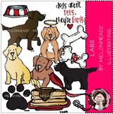 Lab Dogs clip art- by Melonheadz