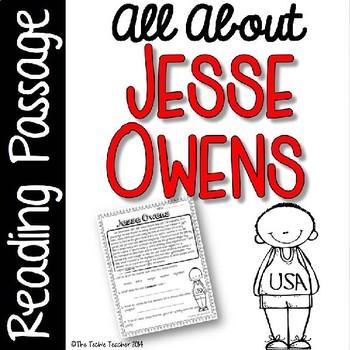 Jesse Owens Reading Passage