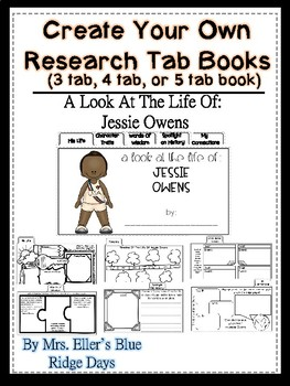 Jessie Owens Research: Create Your Own Tab Books
