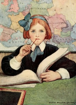 Jessie Willcox Smith Illustrations - 50 Image collection