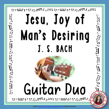 Guitar duo 'Jesu, Joy of Man's Desiring'