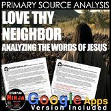 Jesus - Bible Primary Source Analysis (World Religions)
