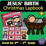 Birth of Jesus   Christmas Lapbook For Sunday School