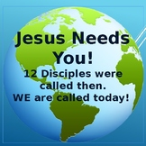 Bible Lesson - Jesus Called the Disciples