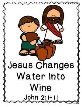 Jesus Changes Water Into Wine - Readers Theater Script