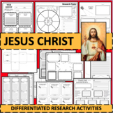 Jesus Christ Biographical Biography Research Activities DIFFERENTIATED!