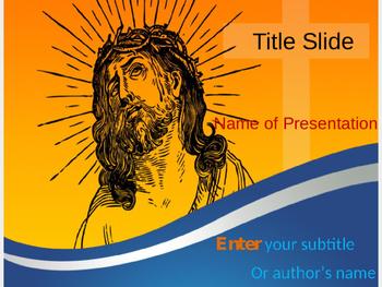 Jesus Christ PPT Template