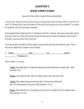Jesus Christ is God & Man Bible Study (NKJV) (Adult Verison)