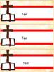 Jesus / Christian Themed Classroom Decor: Editable Name Plates