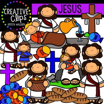 Jesus {Creative Clips Digital Clipart}