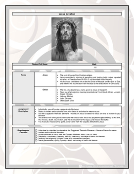 Assignment - Jesus Devotion