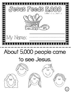 Jesus Feeds 5000 Worksheets & Teaching Resources   TpT