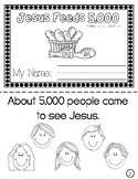 Jesus Feeds 5,000 Mini Book