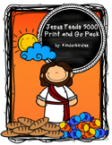 Jesus Feeds 5000 Print and Go Pack