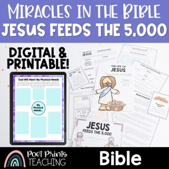 Bible Lessons, Jesus Feeds the Five Thousand