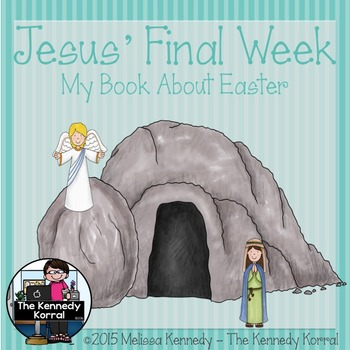 Jesus' Final Week {Easter Booklet from the Bible Stories}