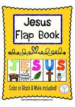 Jesus Flap Book Freebie